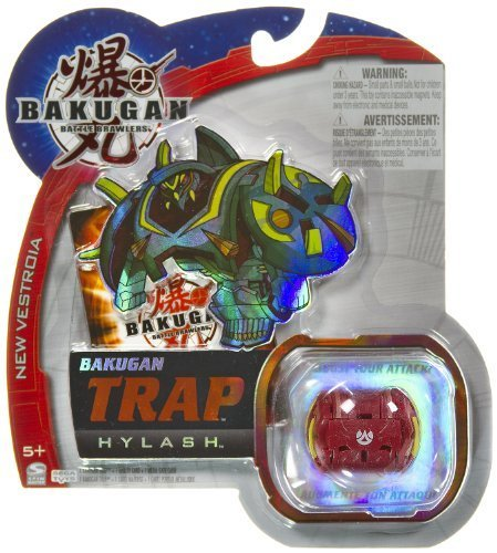 Hylash (Pyrus) - Bakugan Trap New Vestroia Series - NOT Randomly Picked, Sold As Shown In The Picture! (C45888) by Bakugan