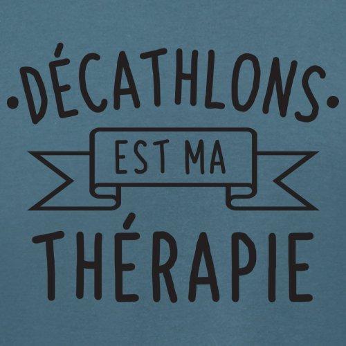 décathlons est ma thérapie - Femme T-Shirt - 14 couleur Bleu