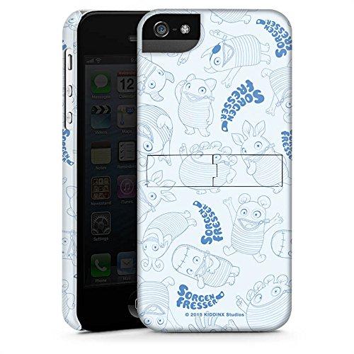 Apple iPhone X Silikon Hülle Case Schutzhülle Sorgenfresser Monster Fanartikel Merchandise Premium Case StandUp