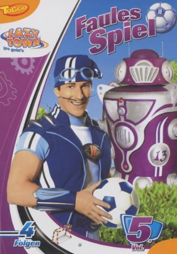 "Sony Music Entertainment LazyTown - DVD Vol. 5 ""Faules Spiel"""