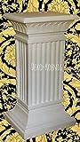 Medusa Säule Mäander Style Dekosäule 80cm Griechische Säulen Barock Podest 1061 k 70 Kunstharz ( ALLWETTER FEST )