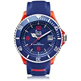 Ice-Watch - ICE sporty Blue Red - Blaue Herrenuhr mit Silikonarmband - 001330 (Extra Large)