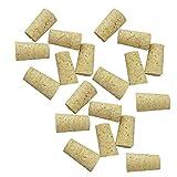Homyl 20 Unidades de Tapón de Botella en Forma Cónico de Madera Adecuado para Tableros de Corcho - Para la botella de vino rojo