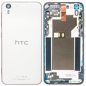 Original HTC Akkudeckel white / weiß für HTC Desire Eye M910n (Akkufachdeckel, Batterieabdeckung, Rückseite, Back-Cover)