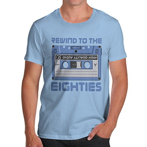 Rewind to The Eighties Cassette Tape T-shirt, many colours