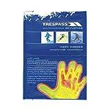 Trespass - Calienta manos Instantáneos químico Modelo Handwarmers X (Paquete de 2 unidades) (Talla Única/Azul)