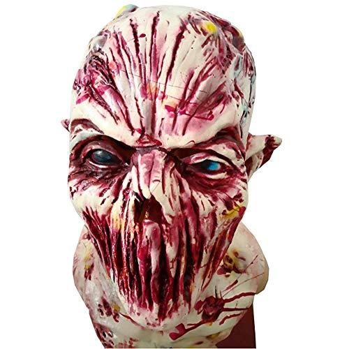 Clown Kostüm Ziel - FQCD Gruselige Maske Halloween Kostüm Maske