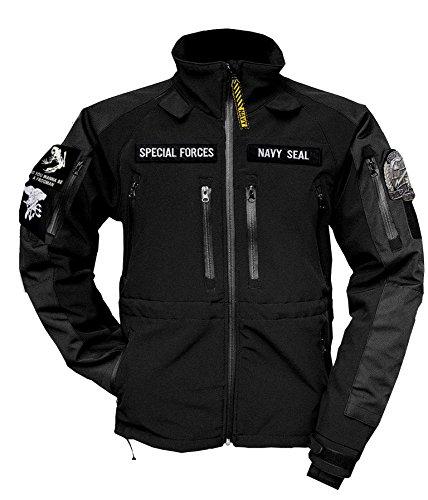 Soft shell militare americano, navy seal giacca termica usa