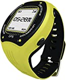 Posma W3 GPS Navigation Running Cycling Hiking Multisport Watch with ANT+, G-Sensor and 6 Axis E-Compass STRAVA MapMyRide/MapMyRun Yellow