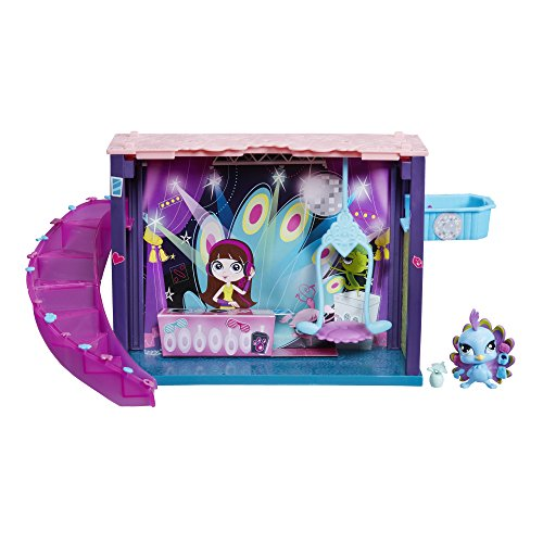Hasbro B0118ES0 - Littlest Pet Shop kleine Tierchenwelt Style Set Disco (Littlest Pet Shop Style Set)