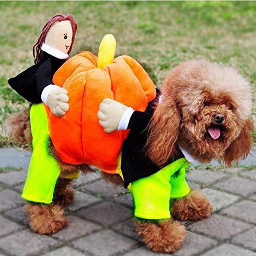 Lustige Hund Kleidung weiche Haustier Hund Kostüm Anzug Baumwolle Kleidung für kleine Hunde Welpen Outfit Kleidung niedlichen Haustier Halloween Weihnachten Hund Haustier Urlaub Geschenk-lustige Hun (Niedlichen Weihnachts Kostüm Hunde)
