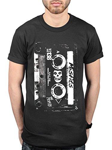 AWDIP - Camiseta - para Hombre Negro Negro XX-Large