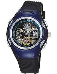 Reloj de los niños / reloj impermeable de los deportes del reloj masculino / reloj corriente / reloj electrónico , deep blue