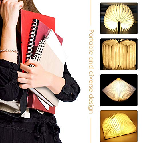 Große LED Buchlampe in Buch Form  mit Akku - 4