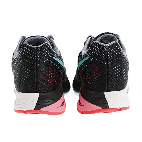 683738-001 W NIKE AIR ZM STRUCTURE 18 (W) Magnet Grey/Black/Hyper Jade/Punch