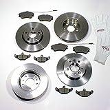 Autoparts-Online Set 60002177 Bremsen + Beläge Vorne + Hinten