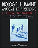 biologie humaine anatomie et physiologie