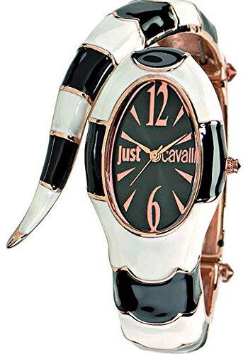 Just Cavalli Damen Analog Quarz Uhr mit Edelstahl Armband R7253153506