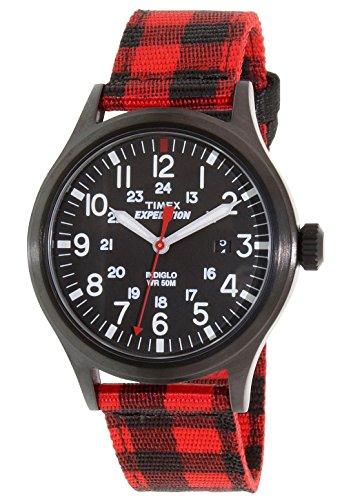 Timex Herren Datum klassisch Quarz Uhr mit Nylon Armband TW4B02000