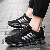 Fexkean Unisex Sportschuhe Laufschuhe Turnschuhe Atmungsaktiv Sneakers Air Sport Casual Shoes Herren Damen - 5