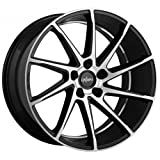 OXIGIN 20 Attraction black full polish 10,5x20 ET23 5.00x112 Hub Bore 66.60 mm - Alu felgen
