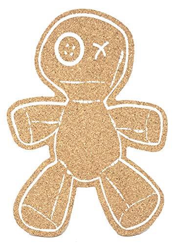Voodoo Vinny Voodoo Pinnwand - Lustige Korktafel - Spind-Dekor, Schreibtisch Dekor, Bürofläche Natural Cork