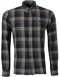 Henri Lloyd - L/S Newberry Check Shirt, Green/Navy, M
