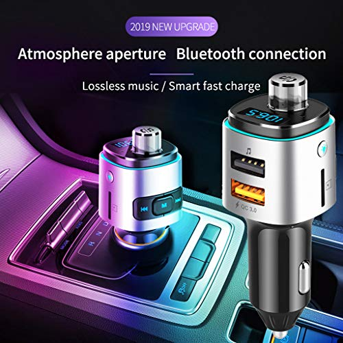 TianranRT Bluetooth Auto Kit FM Sender MP3 Player Dual USB für Telefon TF Karte Modulator -