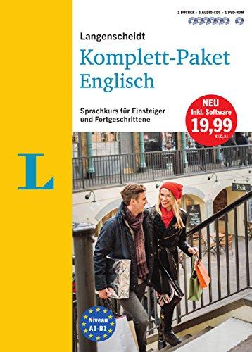 Langenscheidt Komplett-Paket Englisch - Sprachkurs mit 2 Büchern, 6 Audio-CDs, 1 DVD-ROM, MP3-Download: Sprachkurs für Einsteiger und Fortgeschrittene (Audio-cd Lernen Englisch)