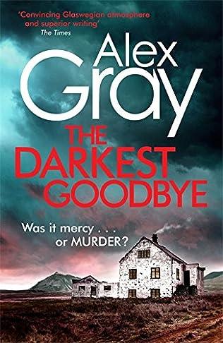 book cover of The Darkest Goodbye