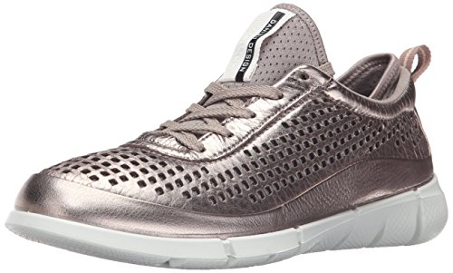 Ecco Intrinsic 1 Femmes, Scarpe Sportive Extérieur Donna Oro (gris Chaud Métallique 54893)