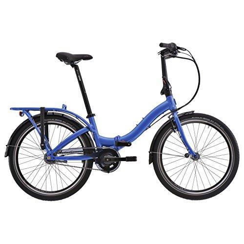 "tern Castro P7i - Bicicletas plegables - 24"" azul 2018"