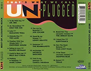 That's what we call Un-plugged-Best of acoustic Rock (1993)
