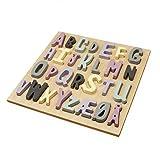 ABC Holzpuzzle für Mädchen