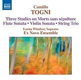 Three Studies On Morts Sans Sépulture ; sonate pour flûte ; sonate pour violon ; trio à cordes