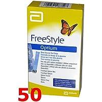 FREESTYLE Optium - 50 Streifen reaktive für die Test der Blutzucker - free style preisvergleich bei billige-tabletten.eu