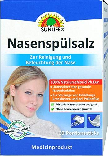 Nasenspülsalz SUNLIFE® 60 Portionssticks -
