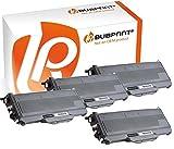 Bubprint 4 Toner kompatibel für Brother TN-2120 TN 2120 für DCP-7030 DCP-7040 HL-2140 HL-2150N HL-2170W MFC-7320 MFC-7440N MFC-7840W Schwarz 2600 S.