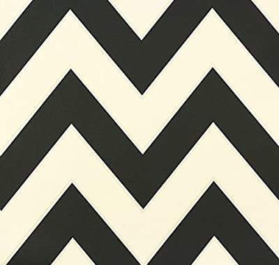 Tapete Black & White 2 - 1005 x 53 cm Farbe: Schwarz / Weiß