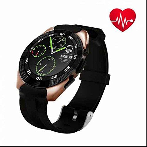 Smart Watch Handy Uhr Activity Best Fitness Tracker Intelligente Sport uhr, Heart Rate Monitor,Blutdruckmessgerät,Sleep Monitor,mit Step Tracker/Call Benachrichtigung Push für iPhone iOS und Android Phone