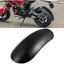 TUINCYN Fender Delantero de Motocicleta Negro Universal Accesorios de decoración para Motocicleta para Harley Davidson 48