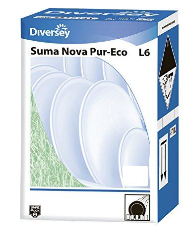 Spülmaschinenreiniger Diversey Suma Nova Pur-Eco L6 10 L Chlorfreier maschineller Geschirrreiniger (Nova Suma)