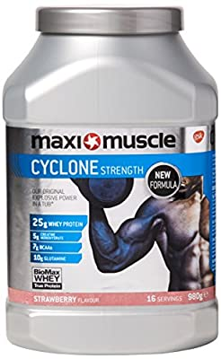 Maximuscle Cyclone Whey Protein Powder with Creatine