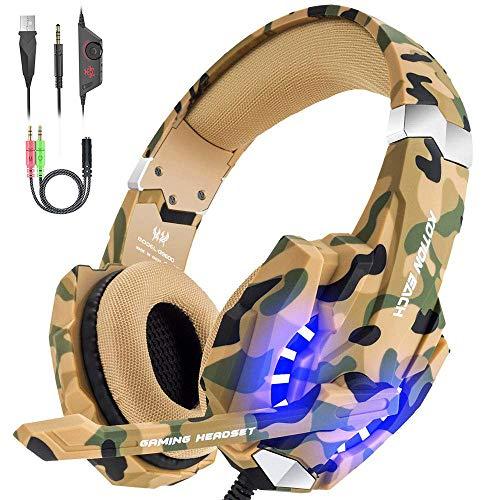 VersionTECH. Auriculares Gaming Estéreo Con Micrófono Gaming Headset