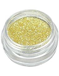 Poudre paillettes scintillantes GOLD trendy Nail Art, deco d'ongles