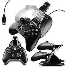 G-HUB® - X-BOX ONE DOUBLE CONTRÔLEUR DOCK (Pour recharger jusqu'à 2 contrôleurs de manette de jeu pendant la charge et peut être utilisé pendant la lecture) Créé par G-HUB® exclusivement pour Microsoft X-BOX ONE Télécommandes de Jeux (Game Pads)