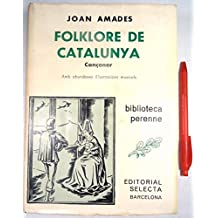 Folklore de Catalunya (Biblioteca perenne)
