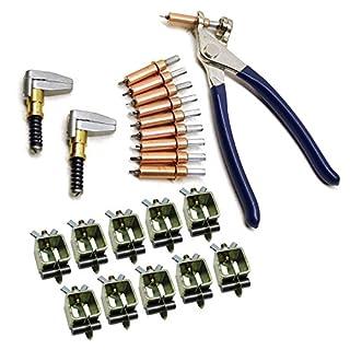 AB Tools Intergrips Technische halsketten für Rohre (Partie 10 Bindungen aus Metall mit Nieten vorübergehend Cleco