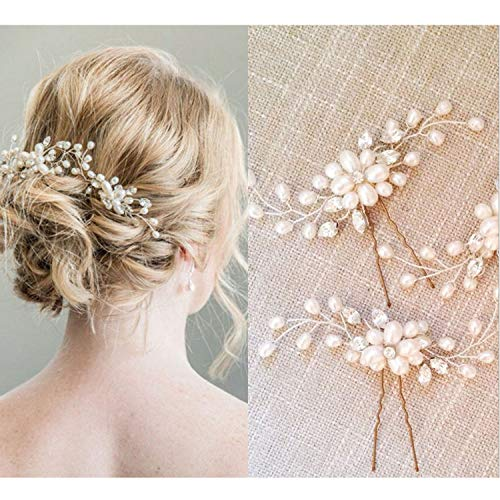 Bridal Hair Pins - 3pcs Fashion ...
