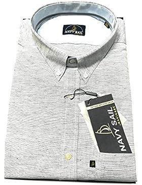 Navigare Camicia cotone manica lunga tg. XL, XXL